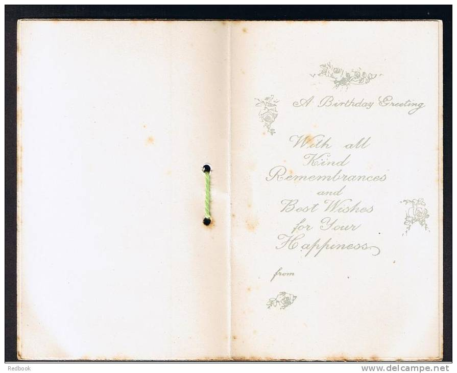 RB 899 - Early Greetings Card From Stony Stratford Near Milton Keynes Buckinghamshire - Unclassified