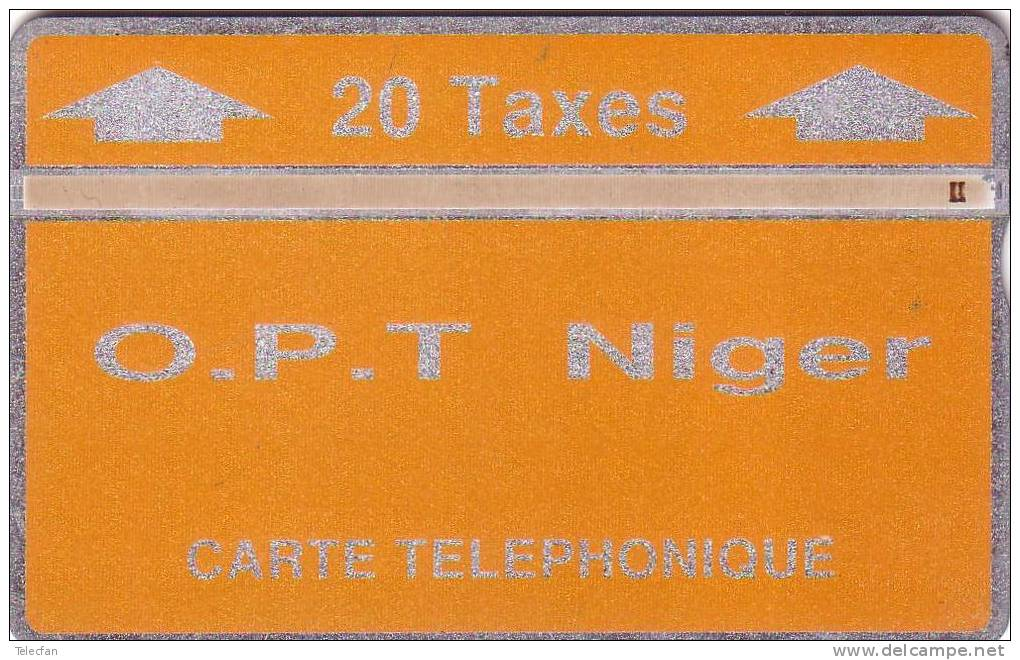 NIGER LANDIS ET GYR 20U ORANGE 404C....UT - Niger