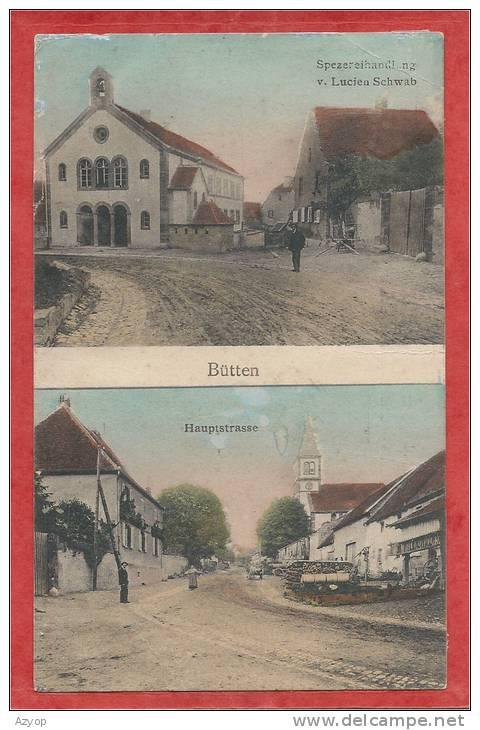 67 - BÜTTEN - Hauptstrasse - Spezereihandlung Von Lucien SCHWAB  - Judaica ? - Francia