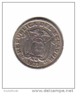 ECUADOR    1  SUCRE  1937  (KM# 78.1) - Ecuador