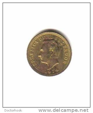 EL SALVADOR    3  CENTAVOS  1974  (KM# 148) - Salvador