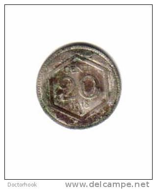 ITALY    20  CENTESIMI   1918  (KM# 58) - 1861-1946 : Kingdom