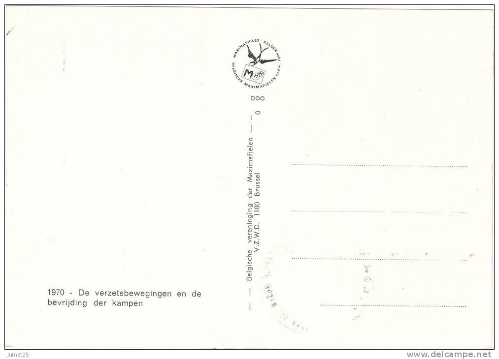1540 25éme Anniversaire De La Libération Des Camps De Prisonniers Politiques Et De Guerre - Libération Des Camps - Maximumkarten (MC)