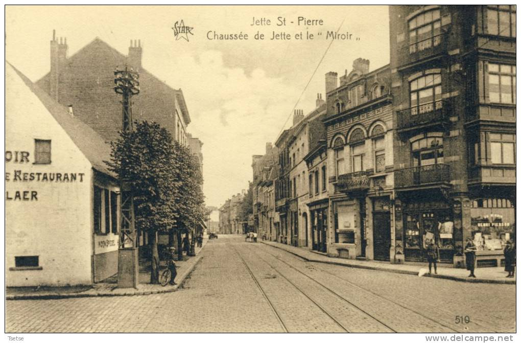 Postales europa b lgica bruselas municipio jette for Le miroir jette