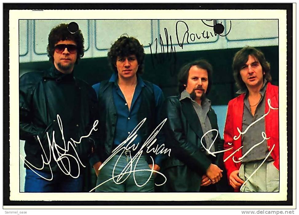 Alte Reproduktion Autogrammkarte  -  Electric Light Orchestra -  Von Ca. 1982 - Autogramme