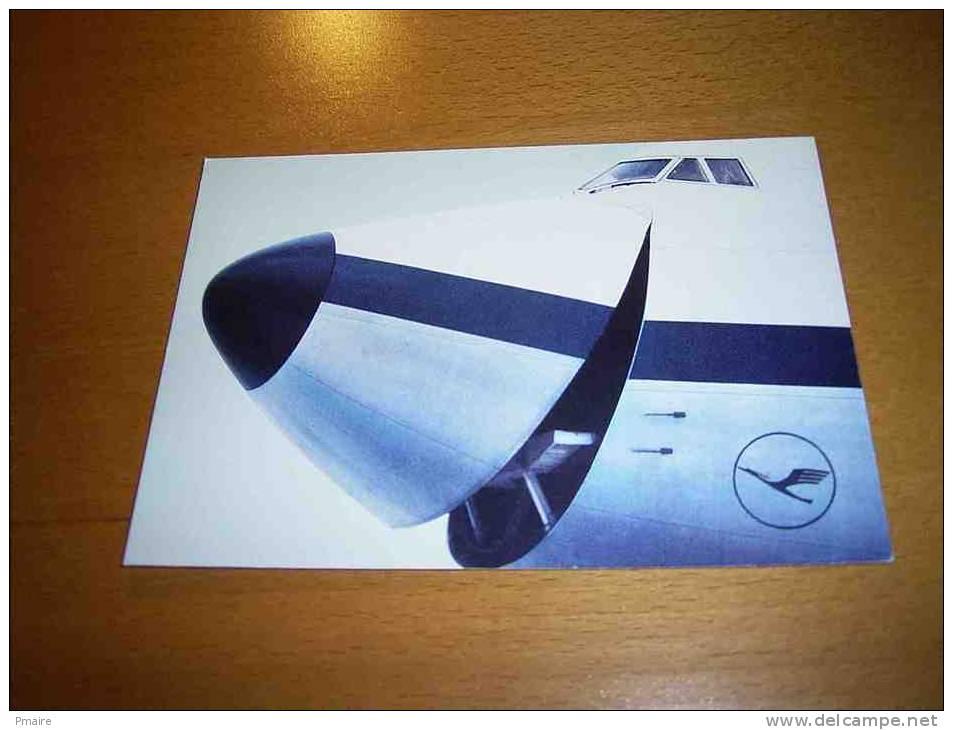 CPM Avion ALLEMAGNE - Lufthansa - PORT GRATUIT - 1946-....: Moderne