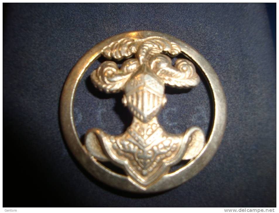 """FRANCE Beautiful Silver?? Circular  Emblem Of The French Army """"Corazzier""""i Made By Drago 2 Photo - Army"""