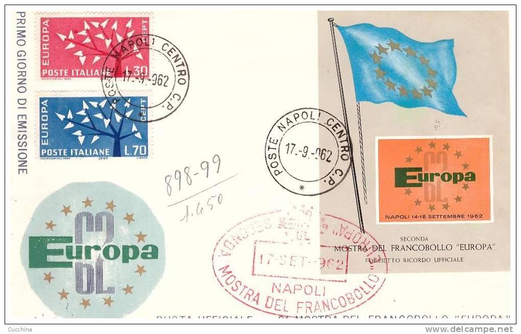 Mostra Francobollo Europa 1962 - 6. 1946-.. Repubblica