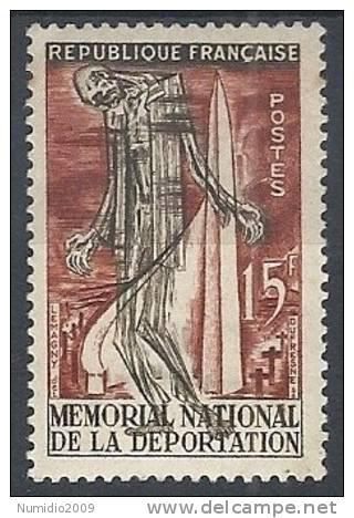 1956 FRANCIA MONUMENTO AI DEPORTATI MH * - FR613 - France