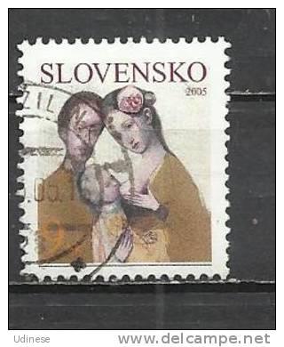 SLOVAKIA 2005 - FAMILY - USED OBLITERE GESTEMPELT USADO - Slovakia