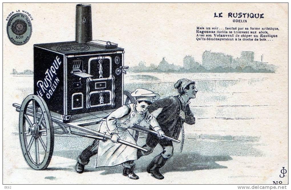 PUBLICITE - LE RUSTIQUE ODELIN - N 5 - Publicité