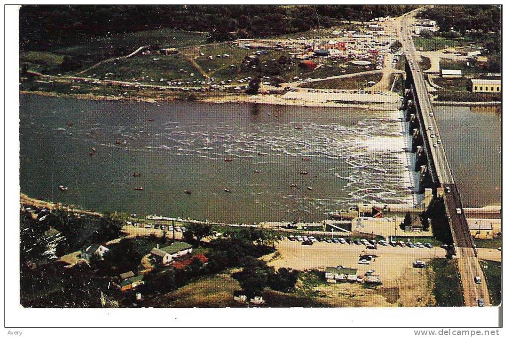 St. Andrews Locks, 25 Miles North Of Winnipeg, Manitoba Bypasses A Series Of Rapids For Boating And Shipping - Manitoba