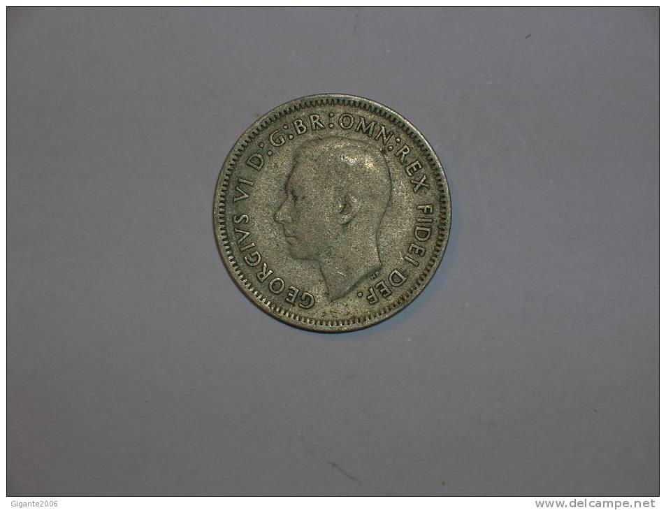Australia 6 Pence 1951 PL  (4486) - Moneda Pre-decimale (1910-1965)