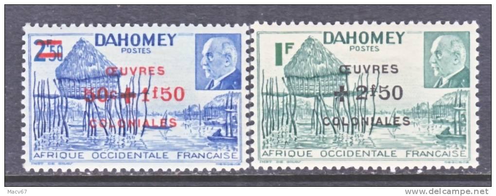 Dahomey B 14 A-b *  VICHY - Unused Stamps