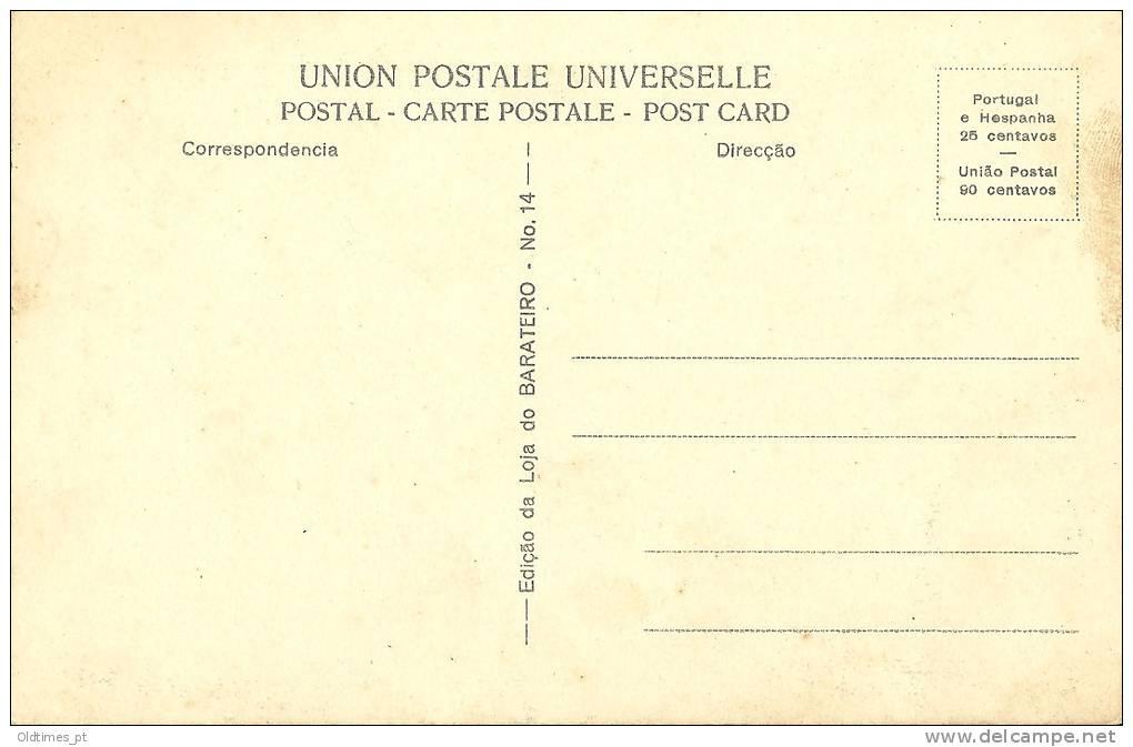 PORTUGAL - TOMAR - VISTA PARCIAL DA CIDADE - 1910 PC - Santarem