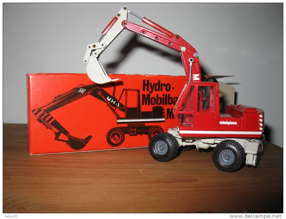 NZG 1//50 Hydro Mobilbagger MH 4 O/&K Orenstein /& Koppel Werbemodell OVP #1552