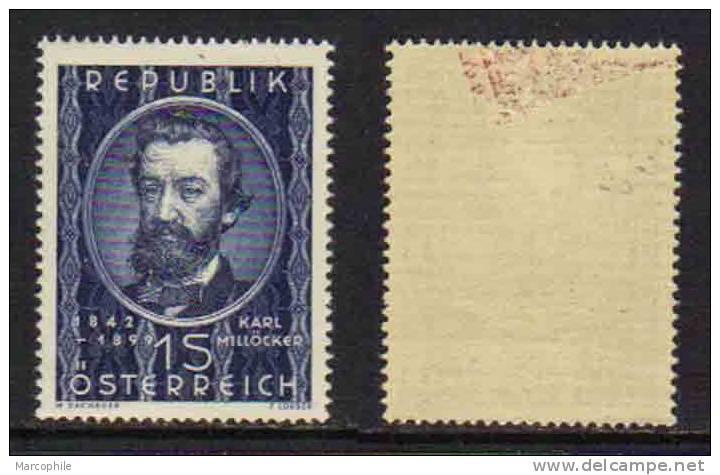 AUTRICHE / 1949  # 782 & 783 */** / COTE 17.50 EUROS (ref T1463-4) - 1945-60 Unused Stamps