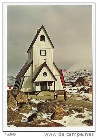 GREENLAND - AK138383 KGH 149 Nanortalik - The Church - Groenland