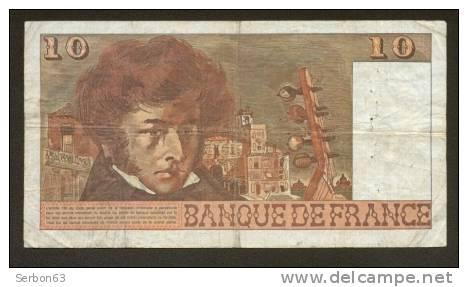 10 FRANCS BERLIOZ BILLET FRANCAIS U.302 N° 86980 TTB PETIT PRIX IDEAL DEBUTANT CRAQUANT D'ORIGINE 10 TROUS ! 2-3-1978 - 10 F 1972-1978 ''Berlioz''