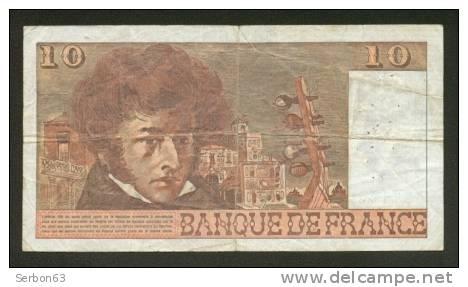 10 FRANCS BERLIOZ BILLET FRANCAIS Y.304 N° 687195 TTB PETIT PRIX IDEAL DEBUTANT CRAQUANT D'ORIGINE 18 TROUS ! 6-7-1978 - 10 F 1972-1978 ''Berlioz''