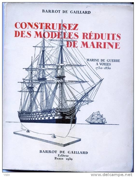 MARINE DE GUERRE Construisez Des Modèles Réduits - Livres, BD, Revues
