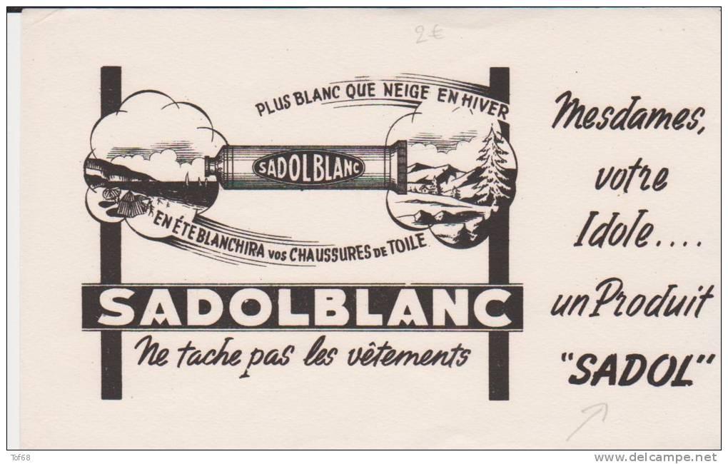 Buvard Cirage Sadolblanc - Buvards, Protège-cahiers Illustrés