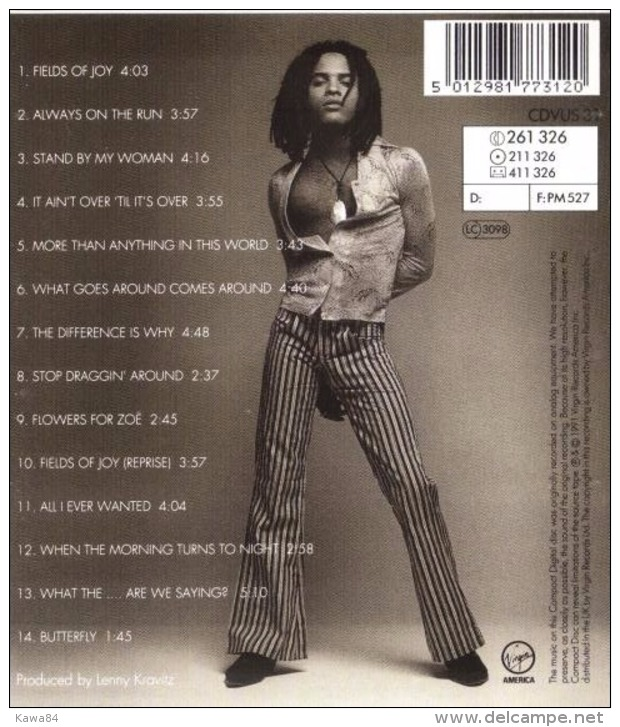 "Lenny Kravitz  ""  Mama Said  "" - Musik & Instrumente"