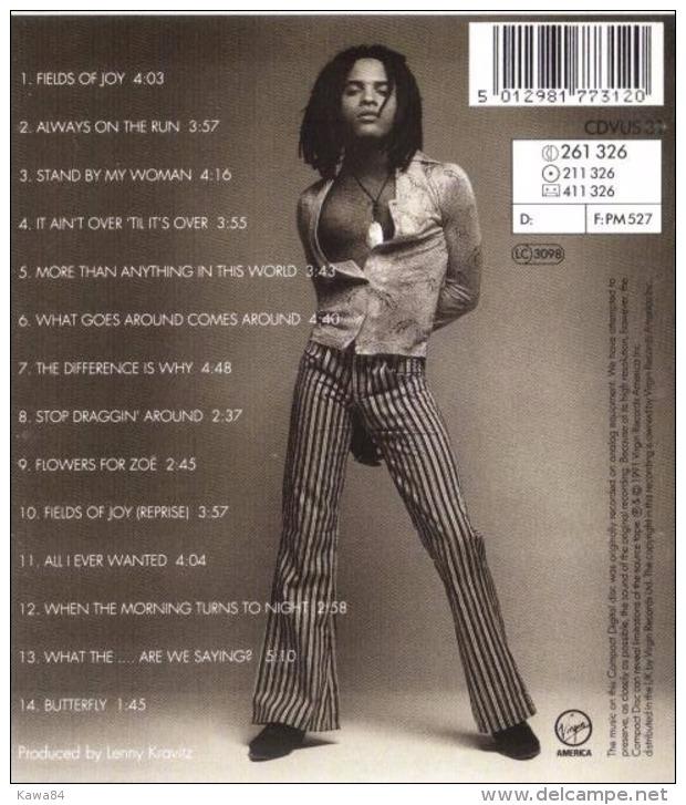 "CD  Lenny Kravitz  ""  Mama Said  ""  Angleterre - Musik & Instrumente"