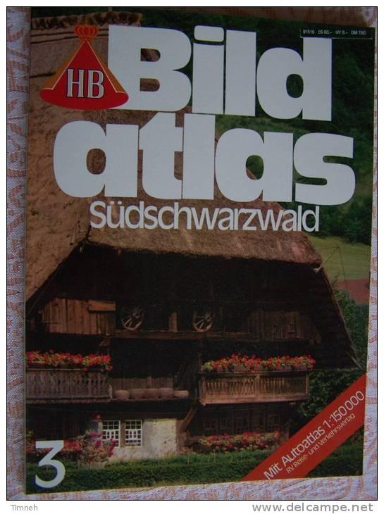 N° 3  HB BILD ATLAS - SÜDSCHWARZWALD - RV REISE Und VERKEHRSVERLAG - Revue Touristique En Allemand - Travel & Entertainment