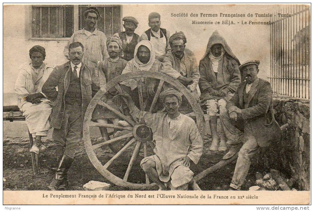 BEJA Societe Des Fermes Francaises Minoterie - Tunisie