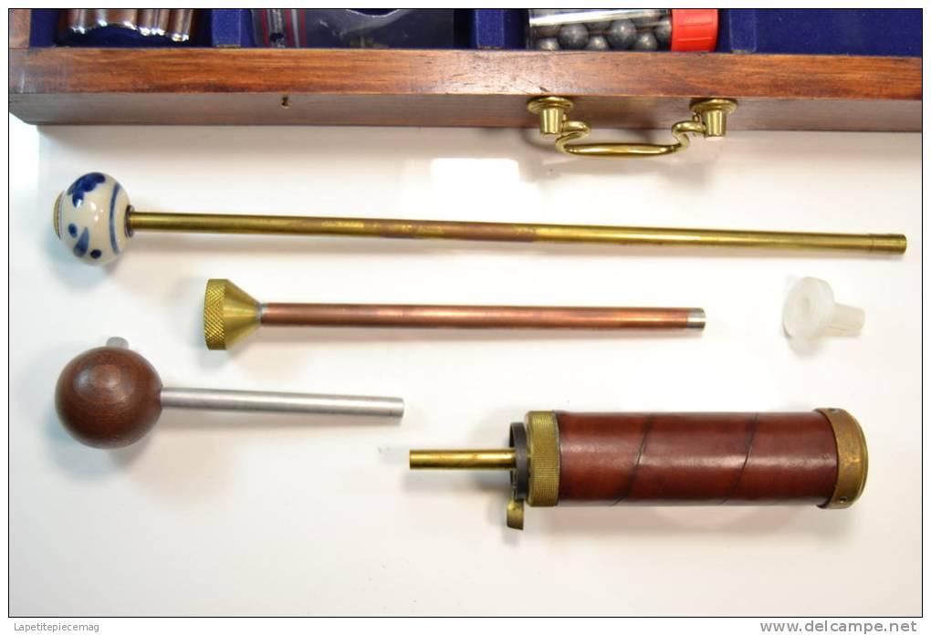 Pistolet A Poudre Noire LEPAGE (Le Page) Type Napoléon 1811. Army Sport, édition Luxe Dans Coffret Bois Avec Accesoires - Armes Neutralisées