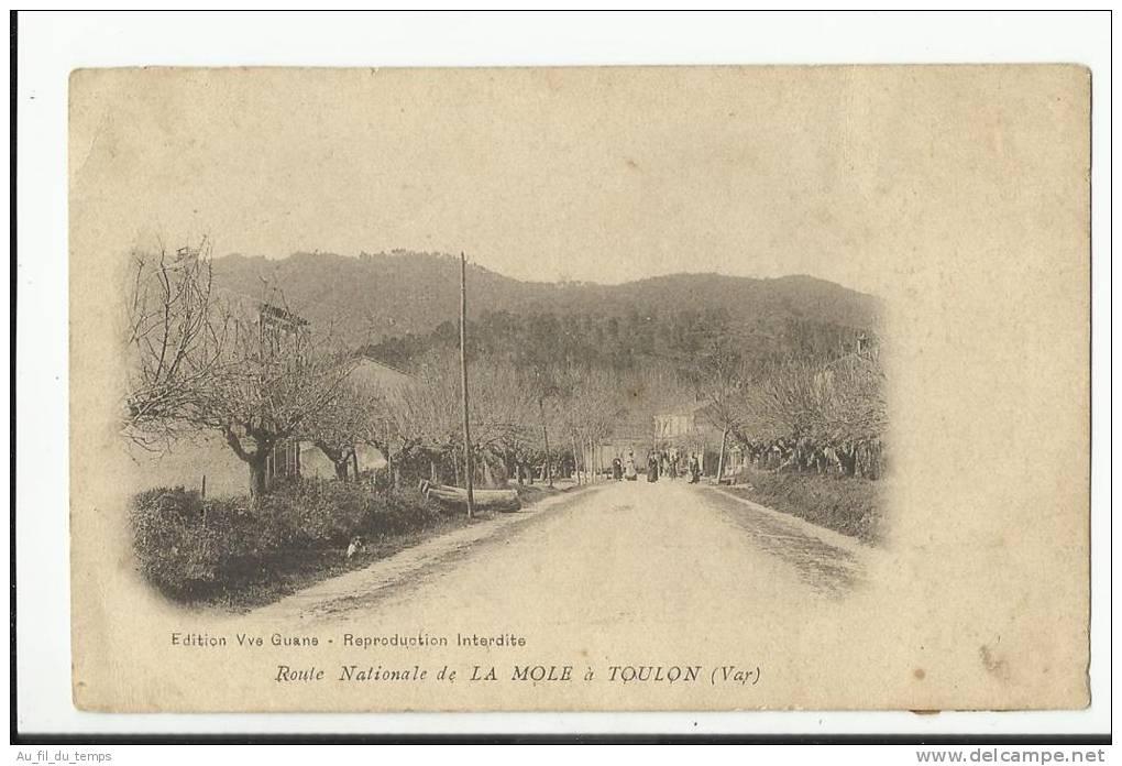 ROUTE NATIONALE DE LA MOLE A TOULON - Other Municipalities
