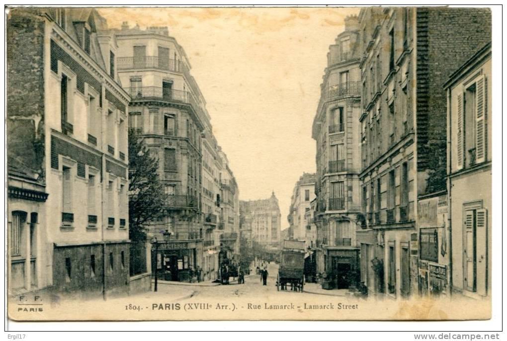 75018 PARIS - Rue Lamarck - Paris (18)