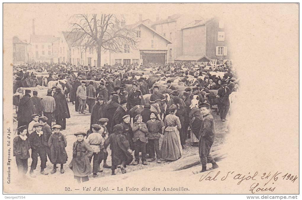 88 - VAL D´AJOL - LA FOIRE DITE DES ANDOUILLES - France
