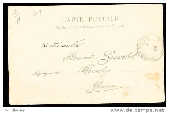 78 CARRIERES SUR SEINE / Fleurie, Le Port D'Embarquement De Chez Lemaire / - Carrières-sur-Seine