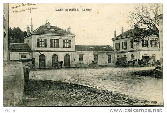 568   Pagny Sur Meuse   La Gare - Autres Communes