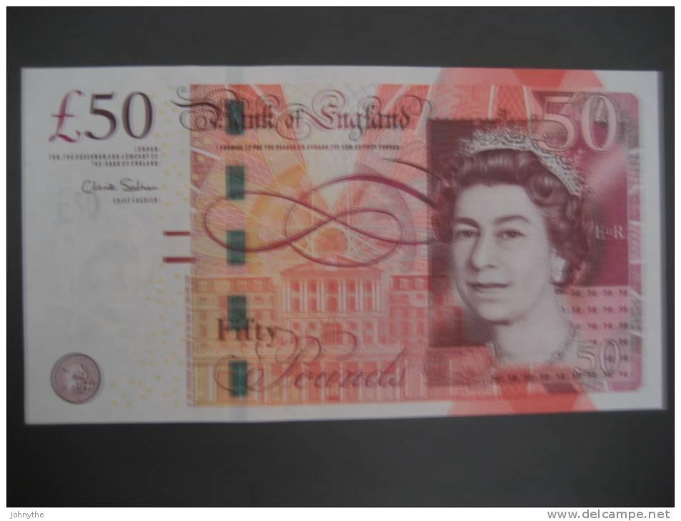 Great Britain 50 Pounds 2010 UNC - 1952-… : Elizabeth II