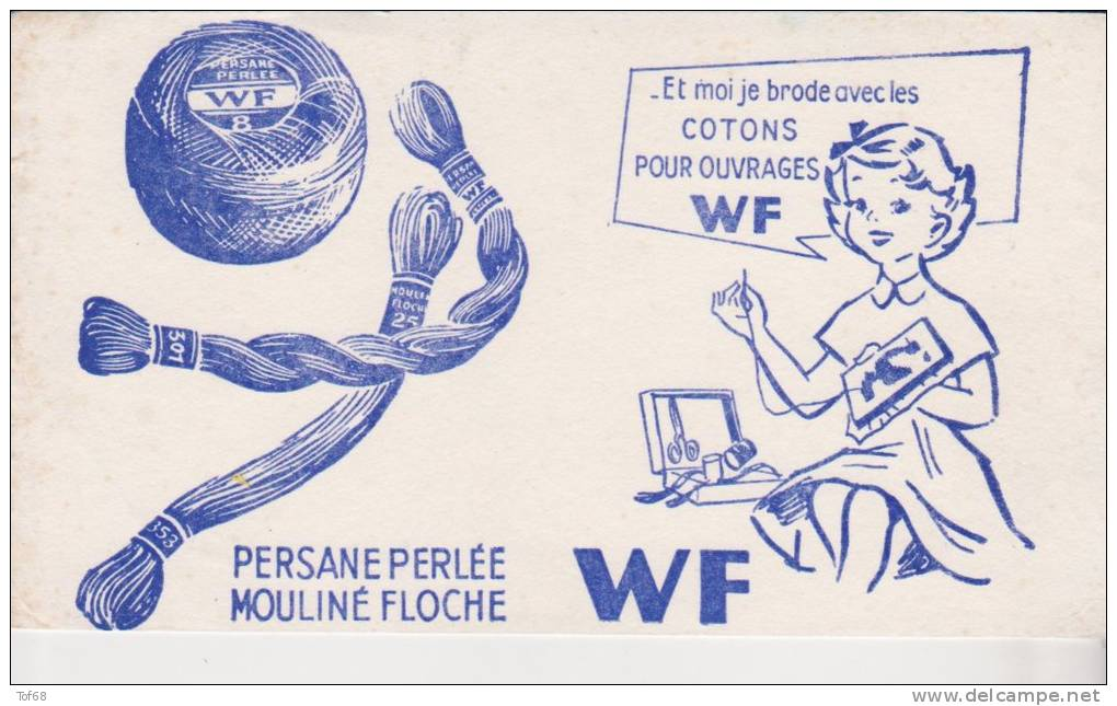 Buvard Cotons WF - Buvards, Protège-cahiers Illustrés