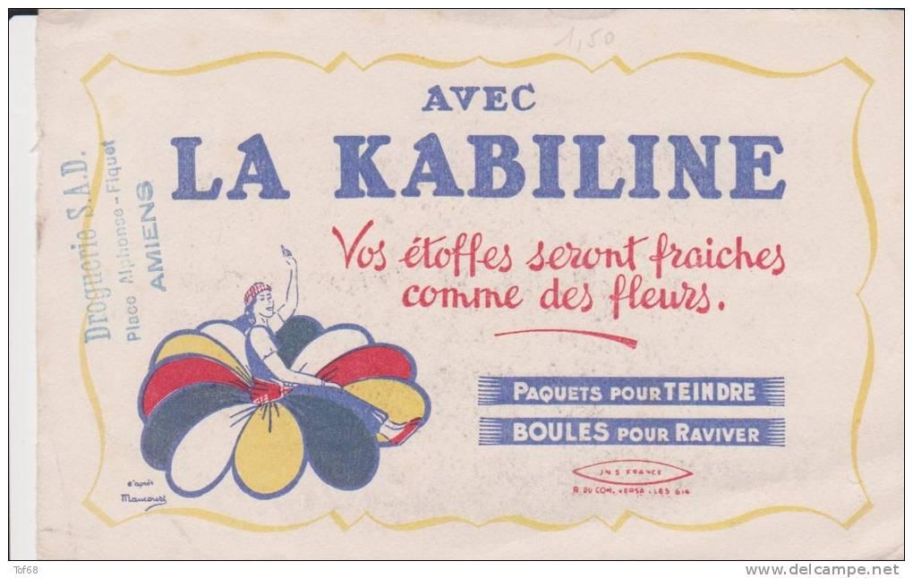 Buvard La Kabiline Tampon Droguerie SAD Amiens - K