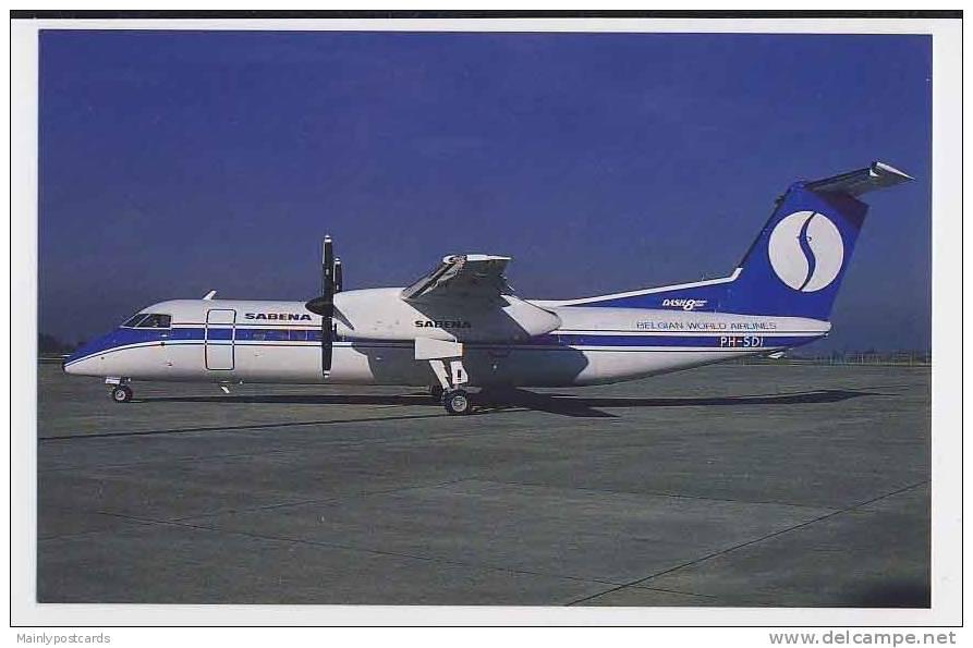 Aviation - Sabena DHC Dash 8-300 - 1946-....: Modern Era