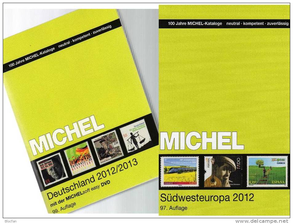 Germany And Part 2 Stamp Catalogue 2012/2013 New 102€ Deutschland+Südwest-Europa MlCHEL D E F P Gibraltar Monaco Andorra - Other