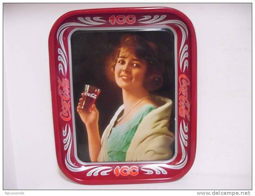 Coca Cola / VASSOIO (2) - 100 Anni - Altri