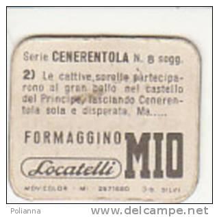PO6688B# FIGURINA ANIMATA FORMAGGINO MIO LOCATELLI Anni '60 Serie CENERENTOLA - Pubblicitari