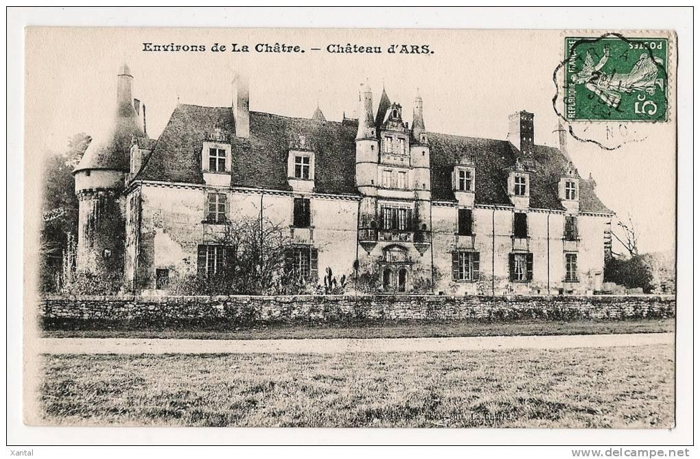 Environs De La Châtre - Château D'Ars - Ecrite / Timbrée 1909 - Non Classés