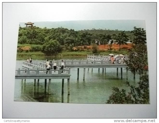 Repubblica Popolare Cinese The Zig Zag Bridge Cheng Ching Lake - Formosa