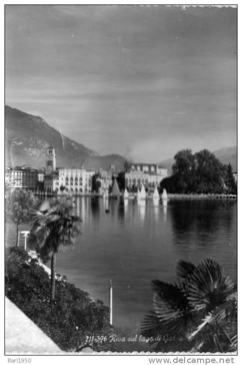 """Bellissima   Cartolina   Anni 50       """"  RIVA Sul Lago Di Garda   """" - Trento"""