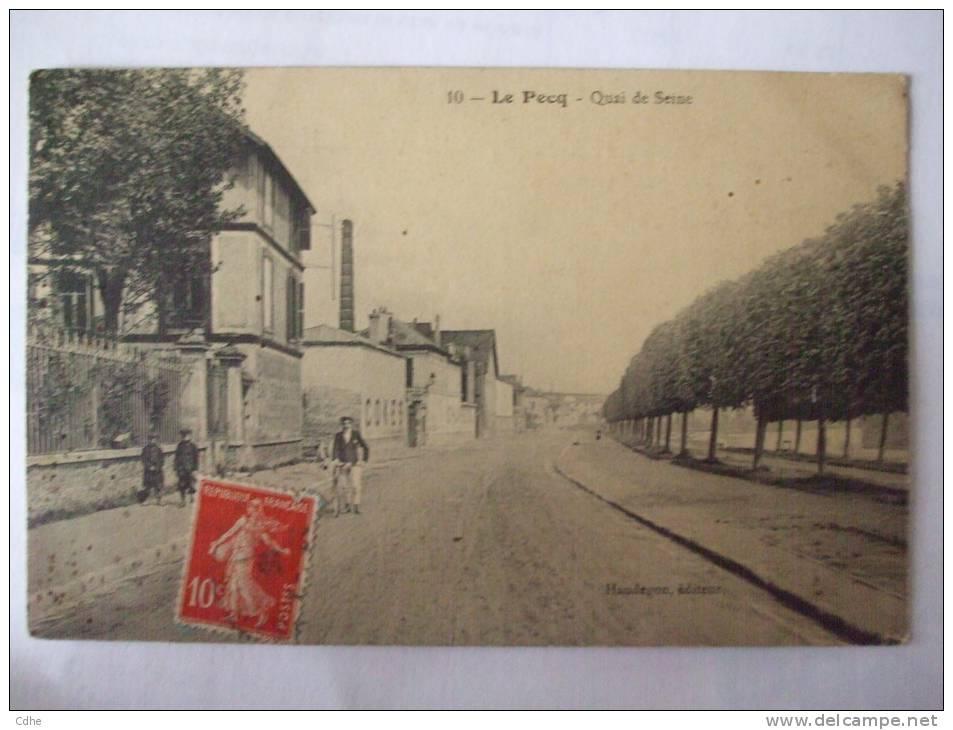 78 - AL -  LE PECQ - QUAI DE SEINE - Le Pecq