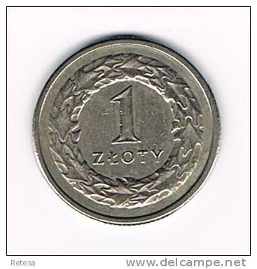 POLEN  1 ZLOTY  1994 - Polen