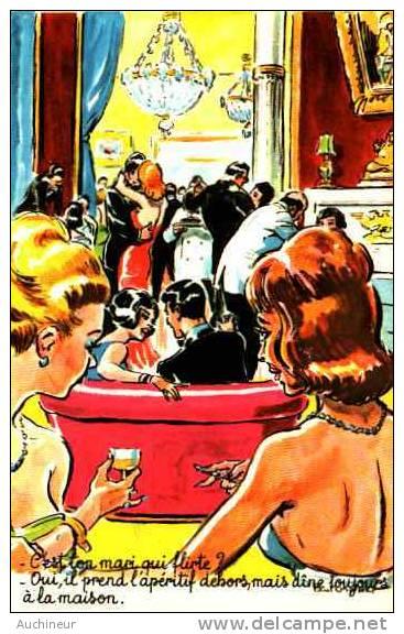 Paul Ordner - Flirt 30313 - C'est Ton Mari Qui Flirte ? Oui Il Prend L'apéritif Dehors Mais Dîne Toujours à La Maison - Ordner, P.