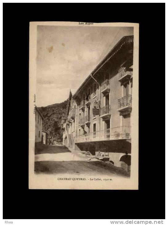 05 - CHATEAU-QUEYRAS - Le Collet, 1340 M - Commune De Chateauville-Vielle - France